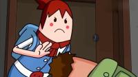 搞笑吃鸡动画:瓦特战地中向萌妹索要抱抱,萌妹真不愧为合格的战地医生