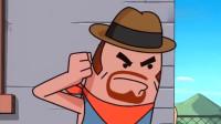 搞笑吃鸡动画:香肠岛大名鼎鼎的霸哥,竟被无名之辈一枪打成盒子