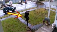 情侣开车停在路边,女子突然下车,下一秒让人无语!