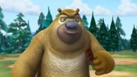熊出没:熊二吃了光头强的巧克力还砸他的车,惹怒光头强