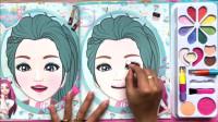 给好看芭比卡通纸化妆秀,画法简单又漂亮,女生很喜欢