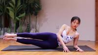 瑜伽:睡前看电视时就能完成的瘦腿瑜伽,赶快学起来吧
