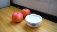 两个苹果,一碗糯米粉,教你做美味的小甜点,软糯香甜,真好吃