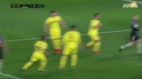 2018/2019西甲联赛第24轮上半场集锦:比利亚雷亚尔2-0塞维利亚
