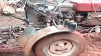 拖拉机装上新喇叭,果然霸气不少!