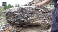 很遗憾,无人机航拍炸机没有找到,却发现了一些刻有藏文的神秘石头!