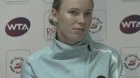 朱琳晋级迪拜网球赛第二轮
