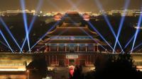 紫禁城上元之夜灯光秀 600年故宫大放奢美身姿