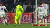 欧冠-梅西哑火小狮王再献神扑 巴萨客场0-0战平里昂