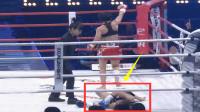 日本美女这一脚激怒中国散打一姐鄂美蝶,结果被4次击倒KO被打哭了