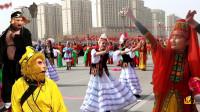 新疆社火和你那有什么不一样?这场面头一次见