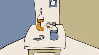 酒瓶杯子简笔画窦老师教画画