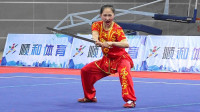 2018年全国武术套路冠军赛 女子南刀 005 李奕萱(天津)