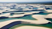 巴西诡异沙漠,突然出现数千湖泊,吸引数十万游客!