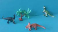 儿童益智玩具:汪汪队天天来帮助恐龙们