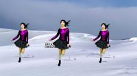 健身时尚广场舞《爱情里下了一场雪》太好听好看
