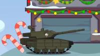 坦克大战:马上圣诞节来放烟花吧?
