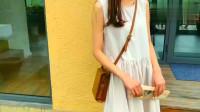 年度时尚:很清新甜美的一款连衣裙,气质到能让你瞬间变成精致女孩!