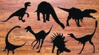 认识单爪龙等7种恐龙