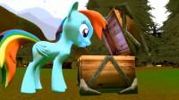 小马宝莉:云宝黛西被变得像蝴蝶一样大小,朋友们都不认识它了
