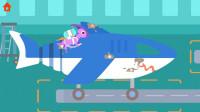 小恐龙迪诺第9期:大鲨鱼飞机和萝卜飞机★恐龙飞机场★哲爷和成哥