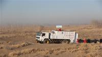 """国产150只""""沙漠猛兽"""",效率远高于人工,日吐40亩绿洲!"""