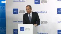 俄罗斯外交部长拉夫罗夫:俄罗斯与欧盟的贸易、政治对话仍在继续