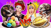 [红桃皇后VS爱丽丝] 在镜中仙境进行随机挑选食物对决-基尼