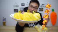 """泰国进口""""迷你小菠萝""""不到拳头大小,甜到牙齿受不了"""