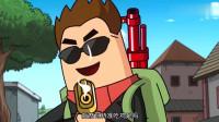 搞笑吃鸡动画:大魔王机械瞄准击杀狙神,萌妹情急之下用歌声拯救世界