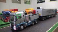 RC遥控拖拉机卡车挖掘机