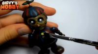 手办玩偶制作秀:装扮打造一个玩具熊的五夜后宫幻影气球男孩