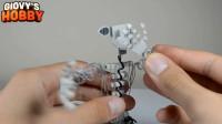 手办大师制作秀:用软陶和铁丝装扮打造一个游戏角色