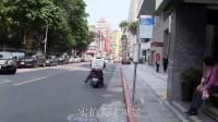 实拍人文风景街拍,这里的街道静悄悄的,偶尔有摩托和汽车呼啸而过