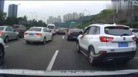 本田司机变道未遂,结果直接追上去恶意别停视频车!