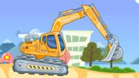 宝宝巴士:奇奇妙妙认识工程车挖掘机游戏