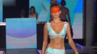 洛杉矶春夏时装周Seafolly比基尼泳装秀,模特颜值爆表,楚楚动人!