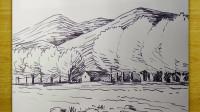 风景画3窦老师教画画