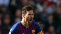 西甲-梅西帽子戏法+绝妙助攻,巴塞罗那4-2逆转塞维利亚 西甲联赛18/19赛季 第25轮 塞维利亚VS巴塞罗那 1