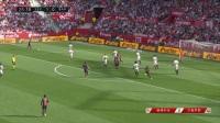 西甲-梅西上演帽子戏法+助攻苏神破门 巴萨4-2逆转塞维