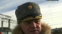 """俄罗斯庆祝""""祖国保卫者日"""":列车巡展  展示叙利亚战场战利品"""