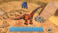恐龙卡车:机械恐龙建造很能干的长颈龙游戏