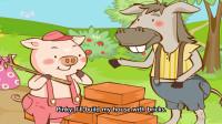 Little Fox小狐狸英语动画| 三只小猪