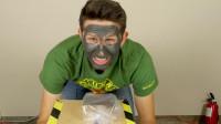 超级磁王钕磁铁能将脸上网红磁石面膜吸干净?这吸力简直可怕!