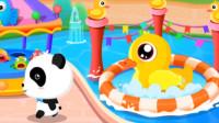 宝宝巴士:宝宝游乐园妙妙和奇奇玩新游戏