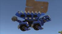 恐龙卡车建造吧:机械恐龙建造很能干的甲龙游戏