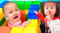 好搞笑!萌宝小萝莉房间为什么突然那么臭呢?趣味玩具故事