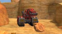 恐龙卡车:机械恐龙霸王龙采石能手游戏