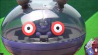 怪兽宝宝竟然发现地上有好多蟑螂玩具