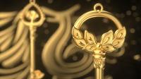老凤祥黄金《灵羽》系列One  —— 魔法钥匙